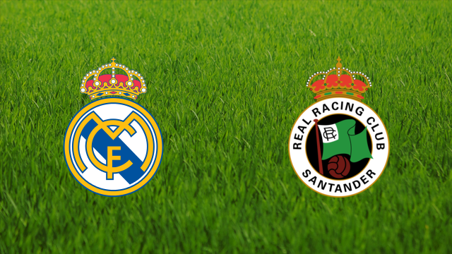 Real Madrid vs. Racing de Santander