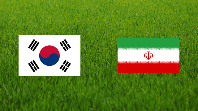 South Korea vs. Iran