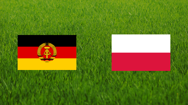 East Germany vs. Poland