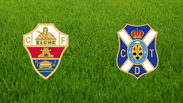 Elche CF vs. CD Tenerife