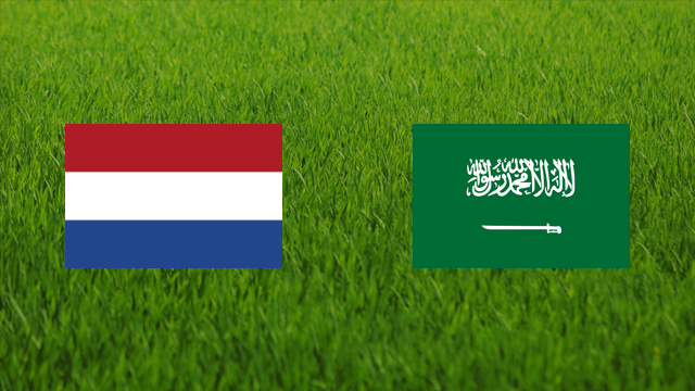Netherlands vs. Saudi Arabia