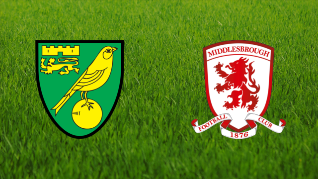 Norwich City vs. Middlesbrough FC