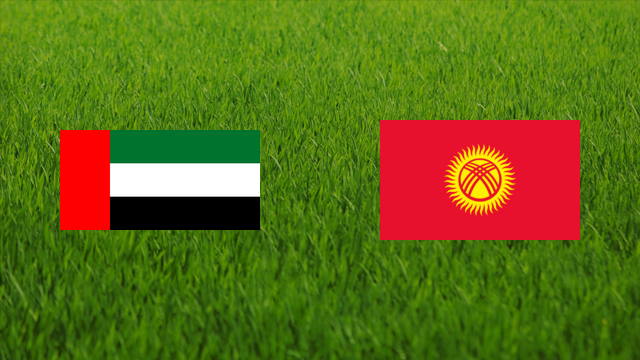 United Arab Emirates vs. Kyrgyzstan