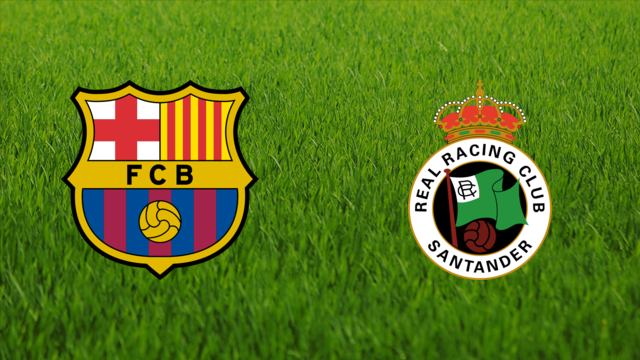FC Barcelona vs. Racing de Santander