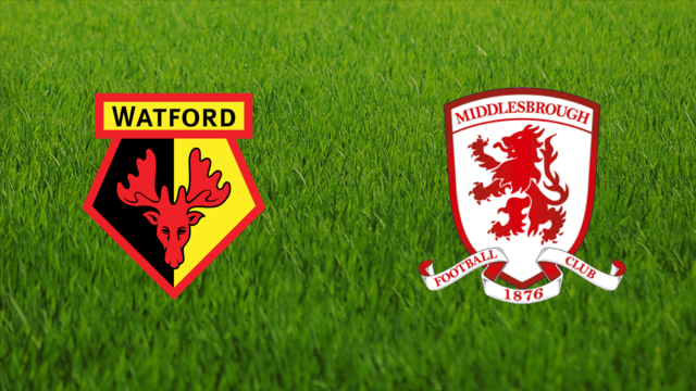 Watford FC vs. Middlesbrough FC