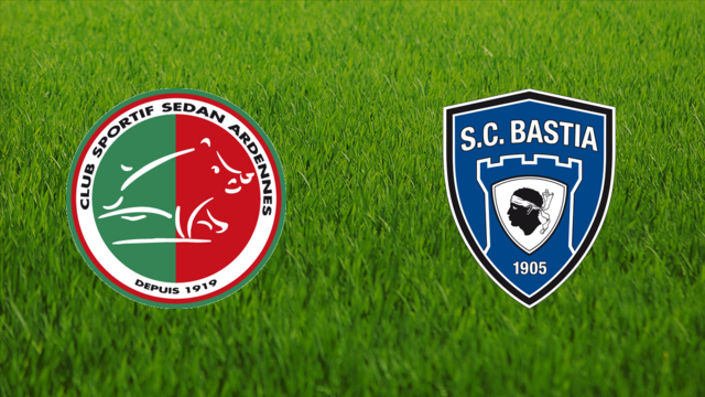 CS Sedan vs. SC Bastia
