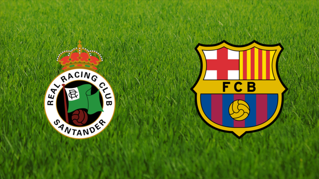 Racing de Santander vs. FC Barcelona