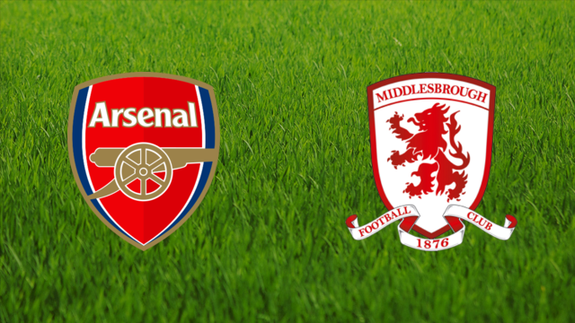 Arsenal FC vs. Middlesbrough FC
